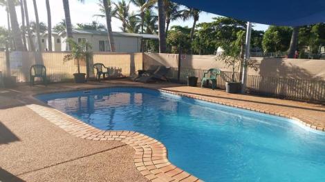 Swimming Pool Karumba Point Sunset Caravan Park