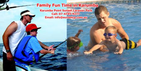 Children Fishing Attraction in Karumba Visit Karumba Point Sunset Caravan Park