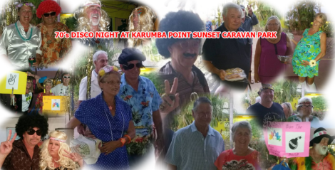 70s Disco Night at Karumba Point Su70s Disco Night at Karumba Point Sunset Caravan Parknset Caravan Park